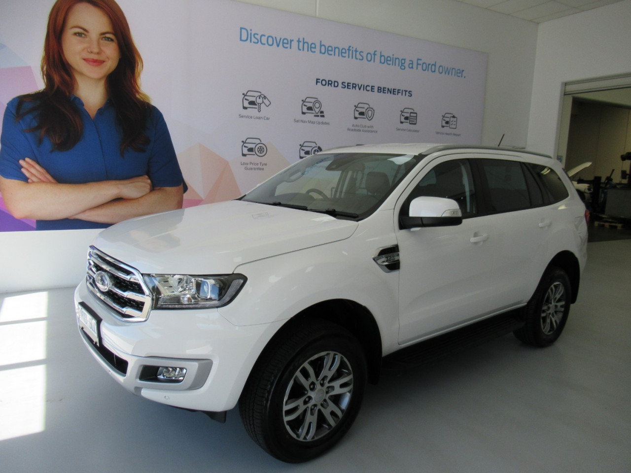2020 MY20.25 Ford Everest UA II Trend 4WD Suv Image 1