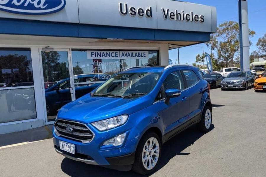 2018 MY18.75 Ford EcoSport BL 2018.75MY TITANIUM Suv