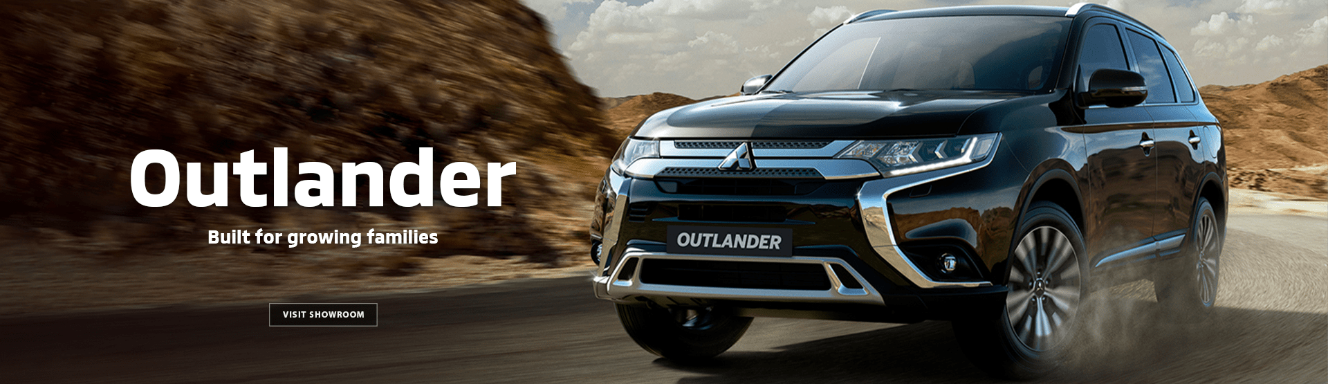 Mitsubishi Outlander - Built for growing families