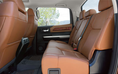 Tundra 1794 Edition Interior Features