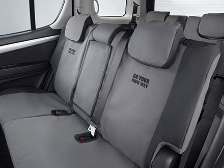 Canvas Seat Covers Rear