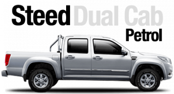 New Great Wall Steed Dual Cab Petrol
