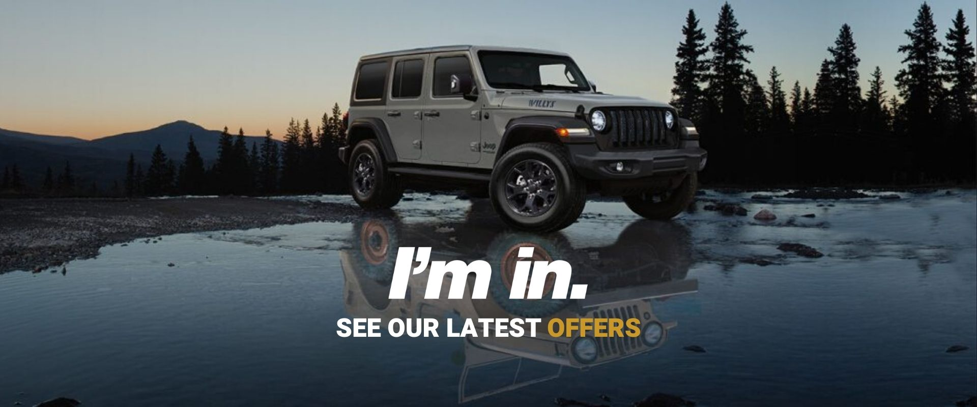 See our latest Jeep Offers and Specials
