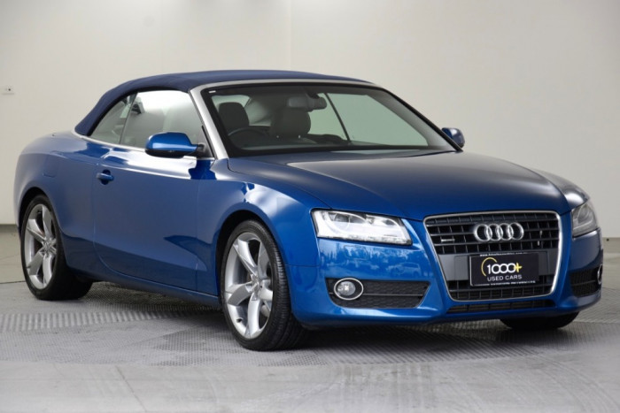 2010 Audi A5 8T MY10 Cabriolet