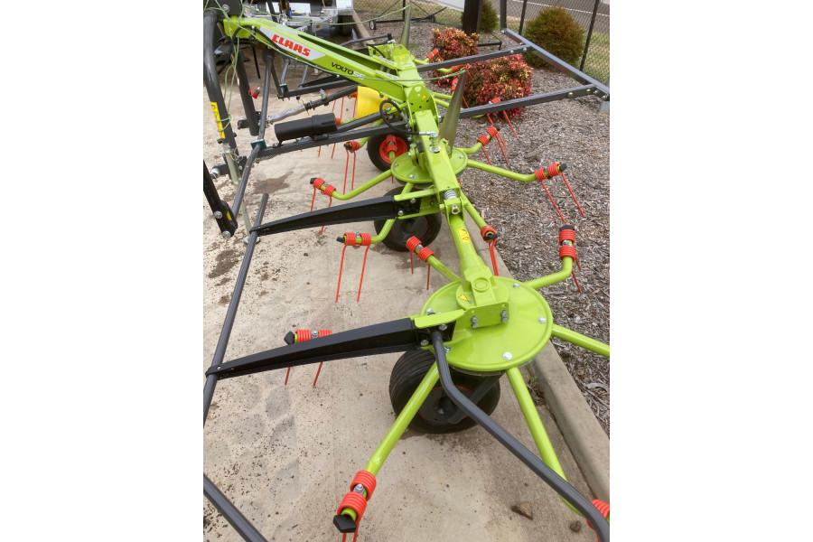 2021 CLAAS V055 TEDDER RAKE Hay rake