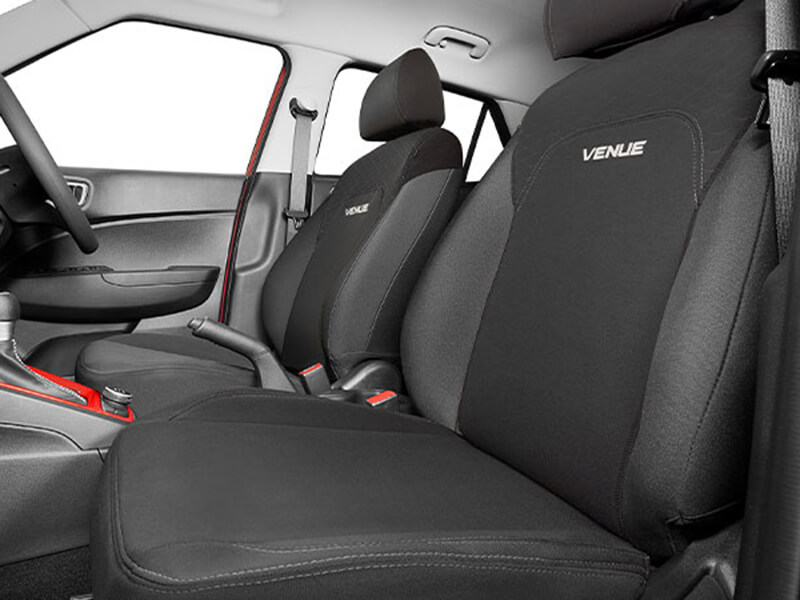 Neoprene front seat covers (set of 2).