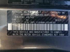 Mitsubishi Pajero GLX 7 Seat Diesel NX