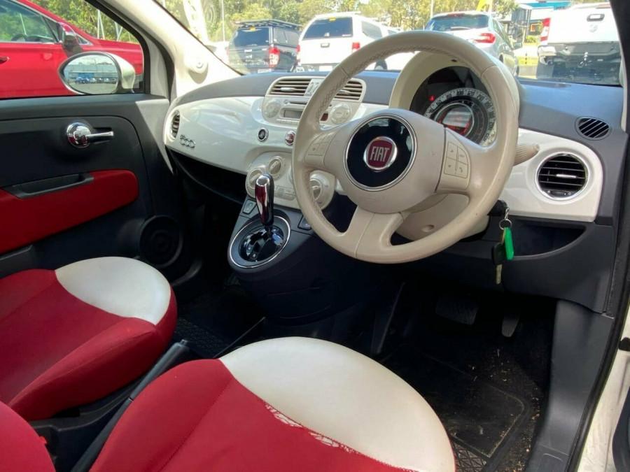 2008 Fiat 500 Series 1 Pop Dualogic Hatchback Image 9