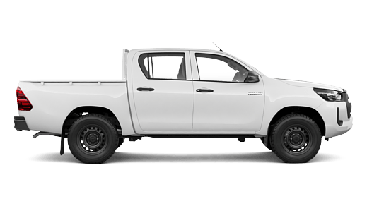 WorkMate 4x2 Hi-Rider Double-Cab Pick-Up