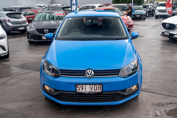 2015 Volkswagen Polo 6R  66TSI Trendline Hatchback