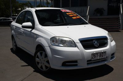 2007 Holden Barina TK MY07 Sedan