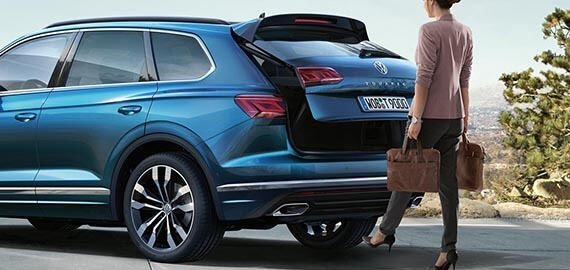 New Touareg Adaptable, convenient.