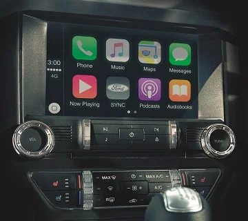 Mustang Apple CarPlay & Android Auto