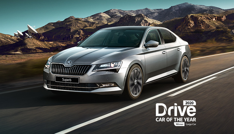 Superb DRIVE LARGE CAR OF THE YEAR AWARD 2020