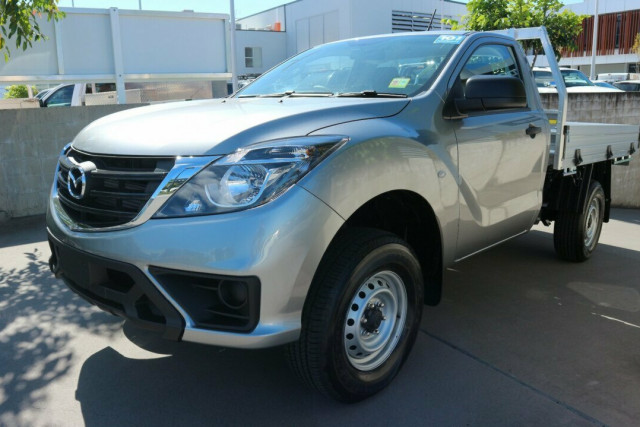 2020 Mazda BT-50 UR 4x2 2.2L Single Cab Chassis XT Cab chassis Image 2