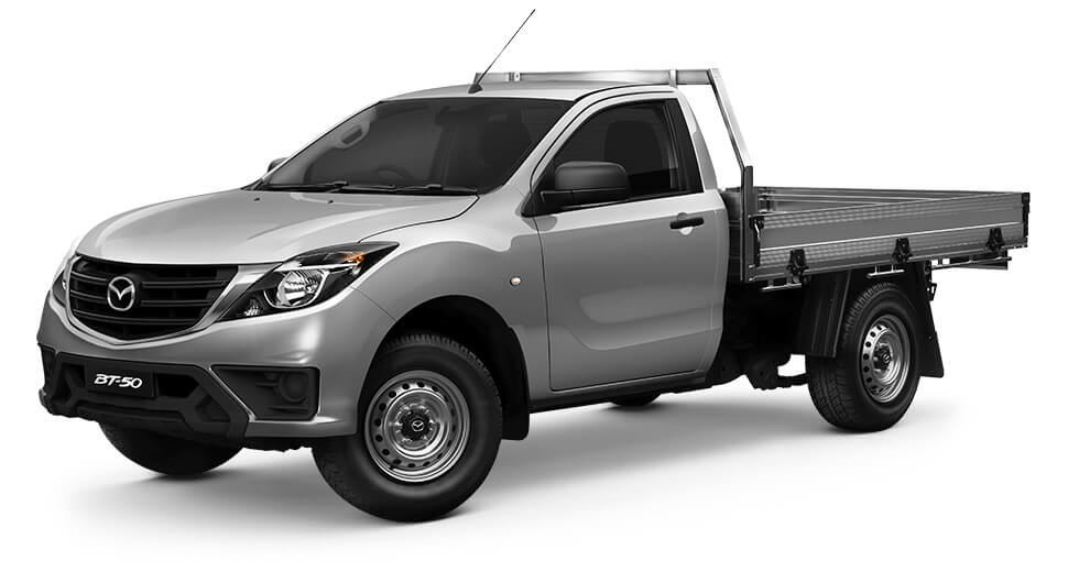 2019 Mazda BT-50 UR 4x2 2.2L Single Cab Chassis XT Single cab chassis