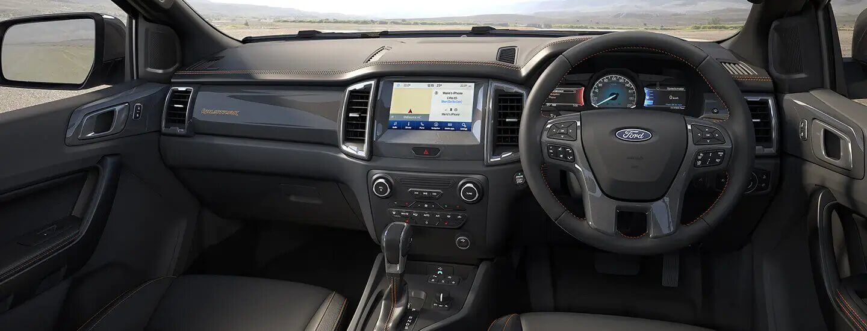 Ranger Interior Features
