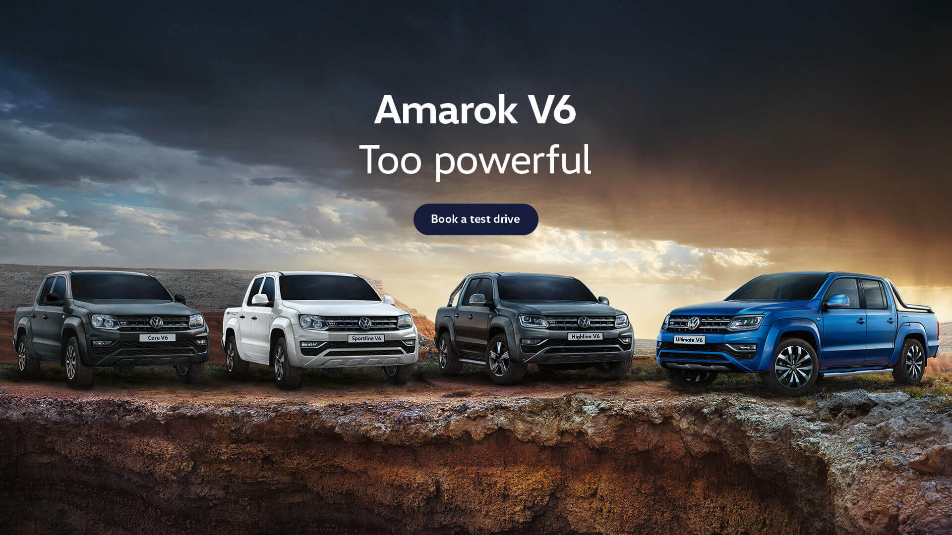 Amarok V6. Too powerful. Test drive today at Westpoint Volkswagen, Brisbane