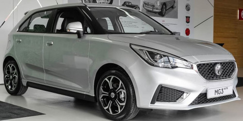 2019 MY20 MG MG3 SZP1 Excite Hatchback