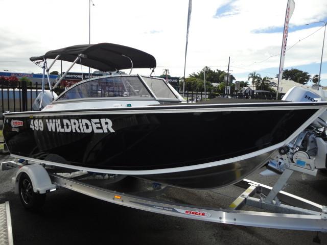 0000 Stacer Wildrider Boat