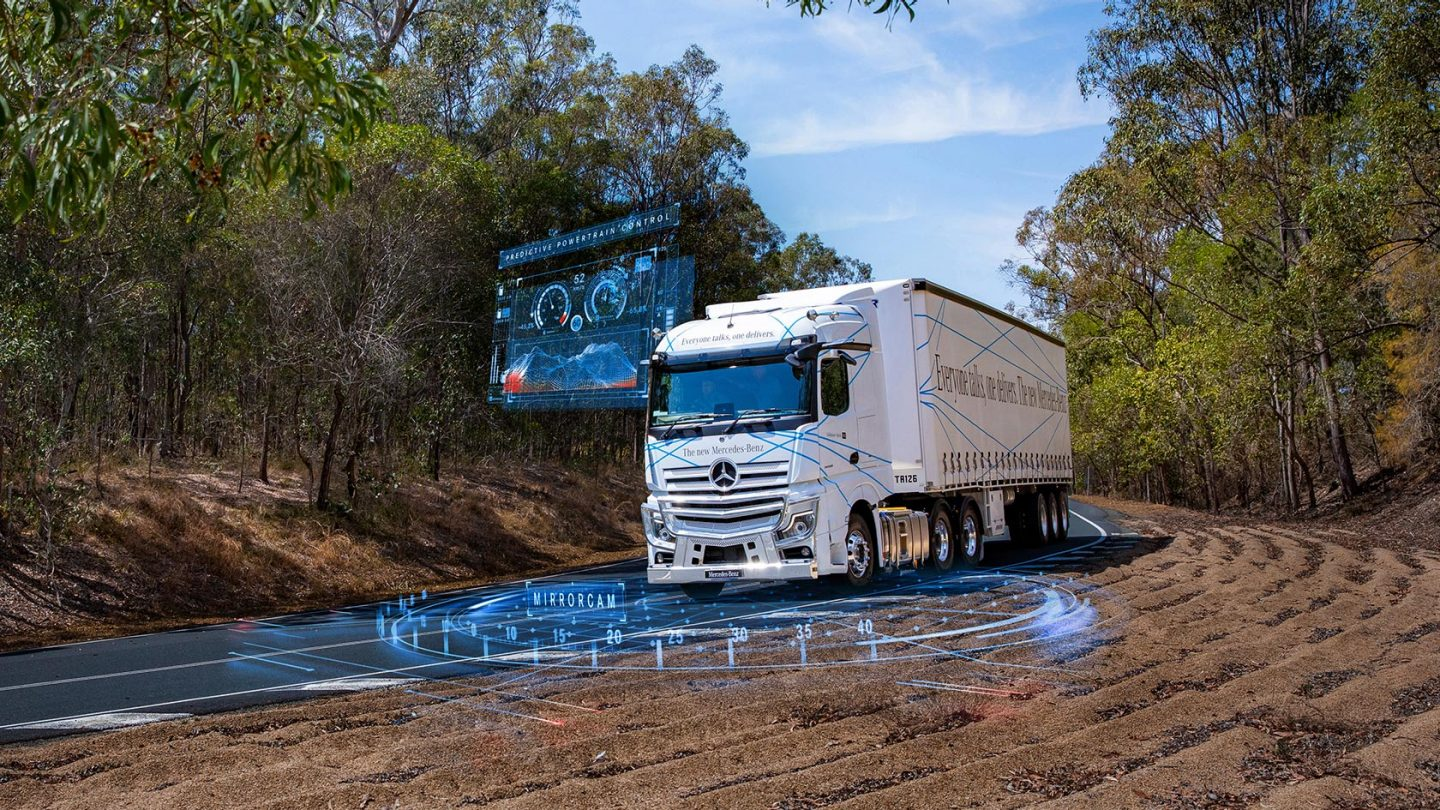 The New Actros Reliability