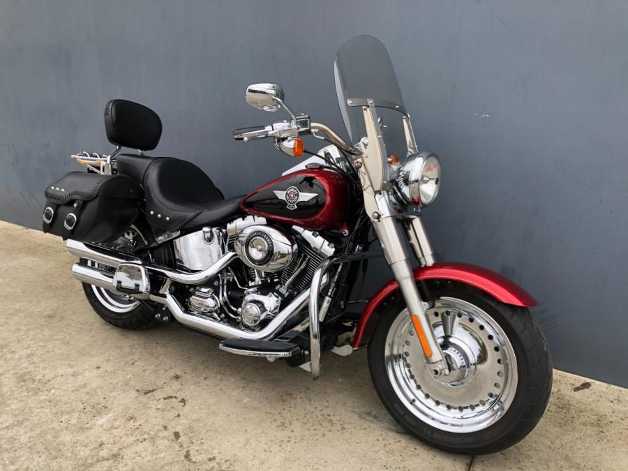 2012 Harley Davidson Fatboy FLSTE1 Motorcycle Image 17