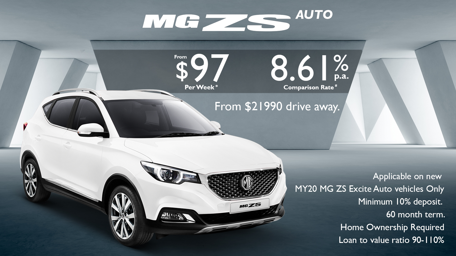 Nova MG ZS Finance Offer