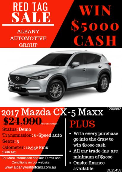 2017 Mazda CX-5 Maxx