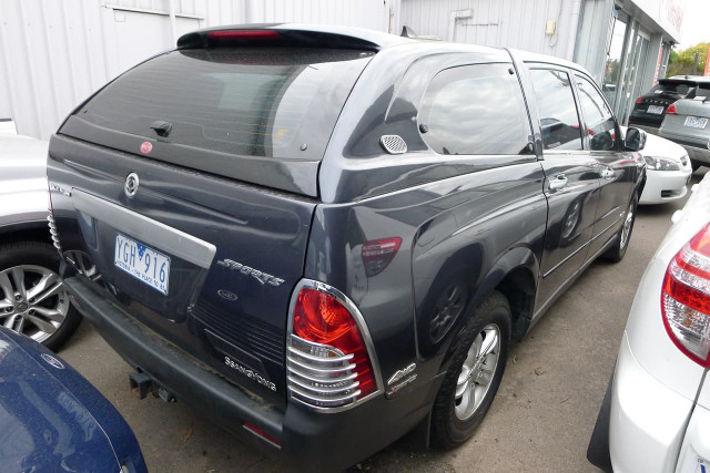 2011 SsangYong Actyon Sports Sports