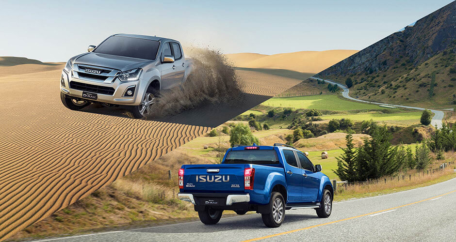 Isuzu UTE 4x4 And 4x2