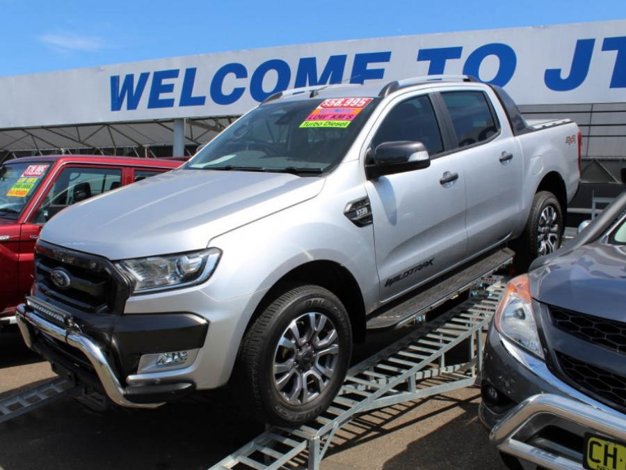 2017 Ford Ranger PX MkII Wildtrak Utility - dual cab