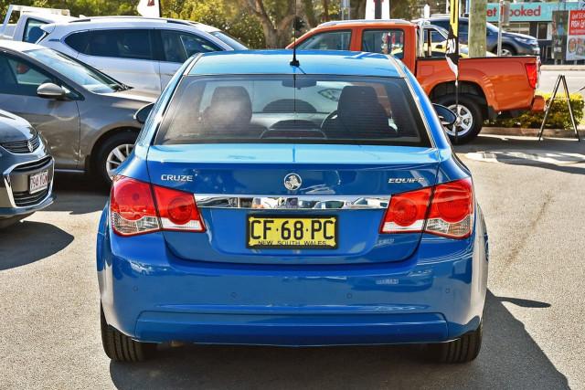 2015 Holden Cruze JH Series II MY15 Equipe Sedan Image 4