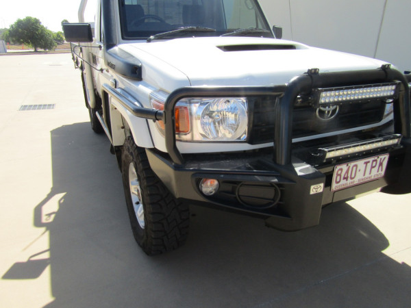 2013 Toyota Landcruiser VDJ79R MY13 GX Cab chassis Image 3