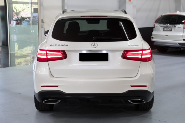 2016 MY07 Mercedes-Benz Glc-class X253  GLC250 d Wagon Image 4