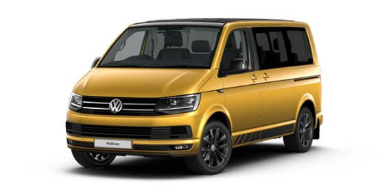 2019 Volkswagen Multivan T6 Black Edition Van