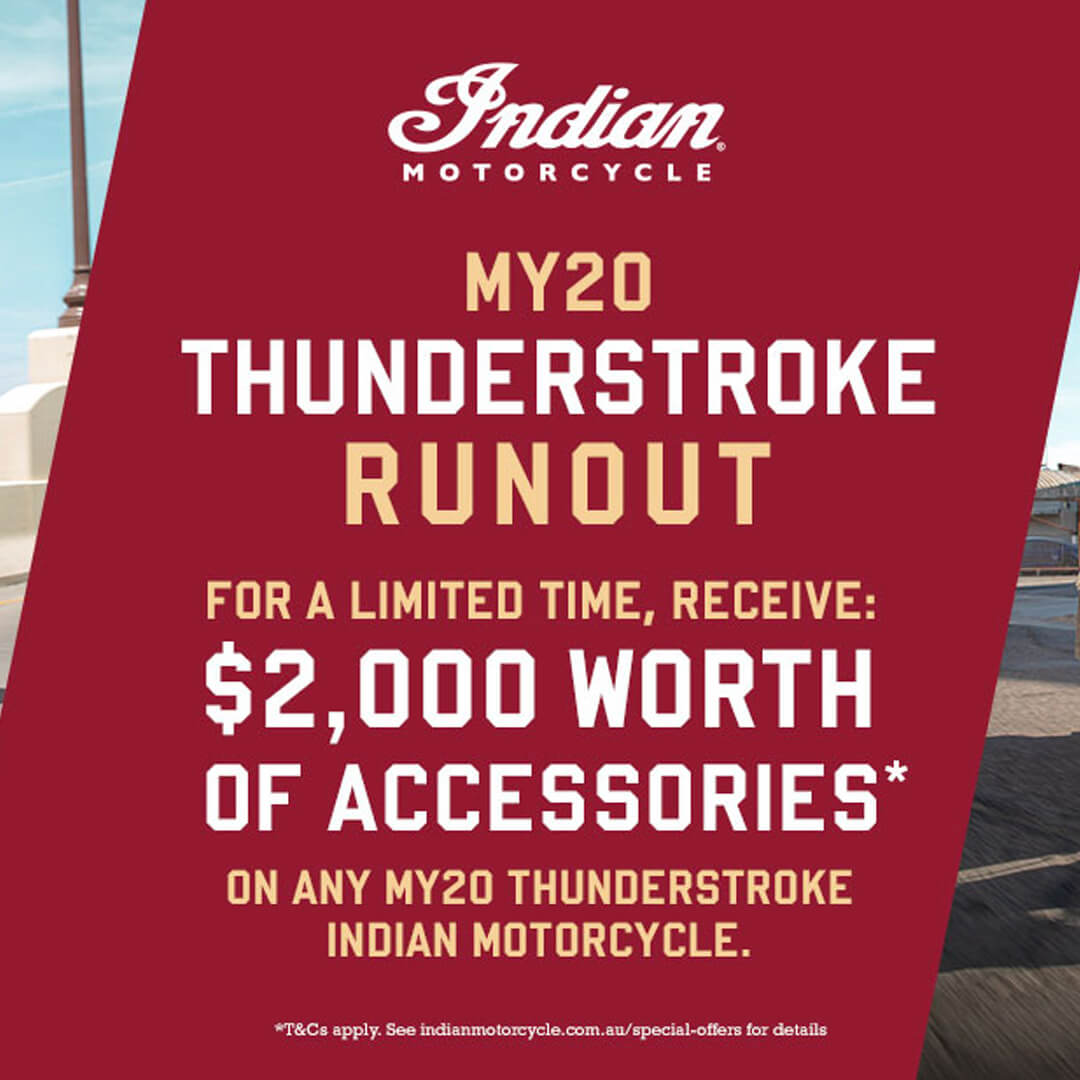 MY20 Thunderstroke Offer