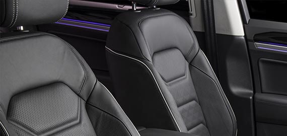 New Touareg Advanced comfort.