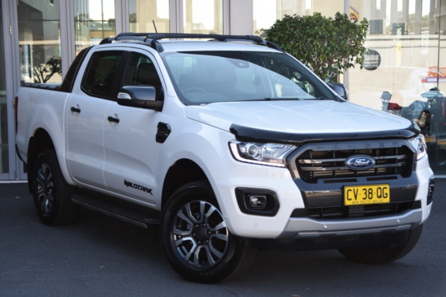 2019 Ford Ranger PX MkIII 2019.0 Wildtrak Utility