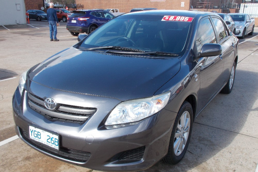 2008 Toyota Corolla ZRE152R Ascent Sedan