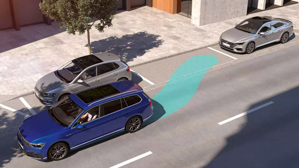 Any space is a Passat Wagon space Image