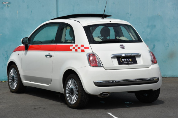 2008 Fiat 500 Vehicle Description.  1 Pop Hatchback 3dr Man 6sp 1.4i Pop Hatchback Image 3