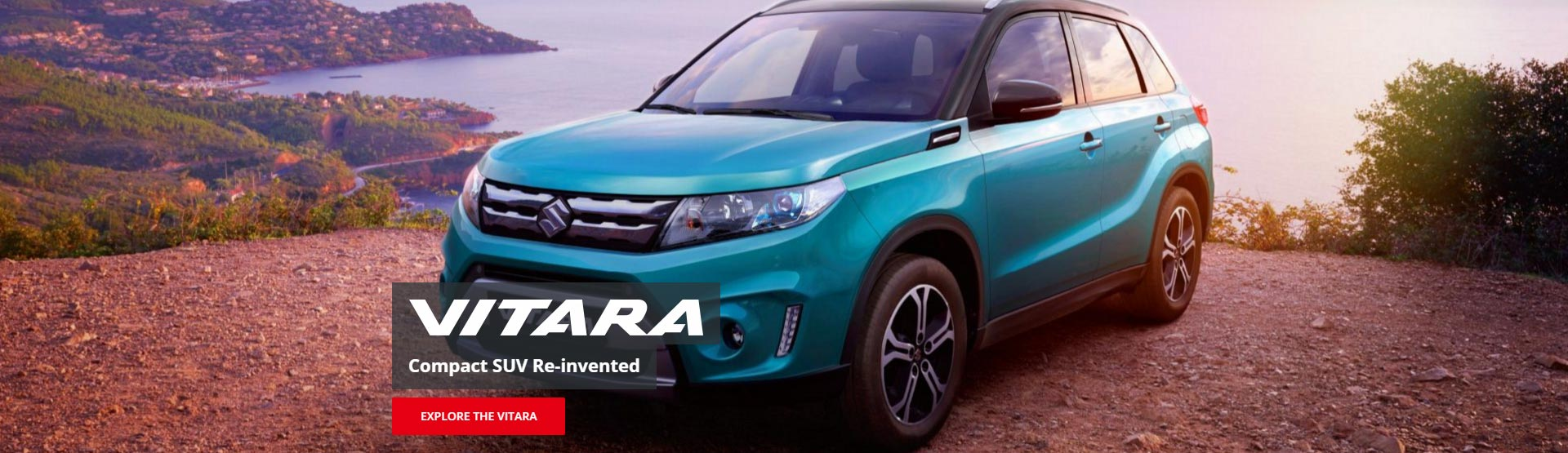 The Suzuki Vitara, the compact SUV reinvented, explore it at Redcliffe Suzuki Brisbane.