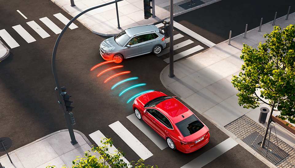 Octavia Front Assist with City Emergency Brake