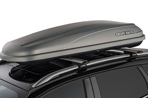 Rhino-Rack Roof Luggage Boxes - 550L Black
