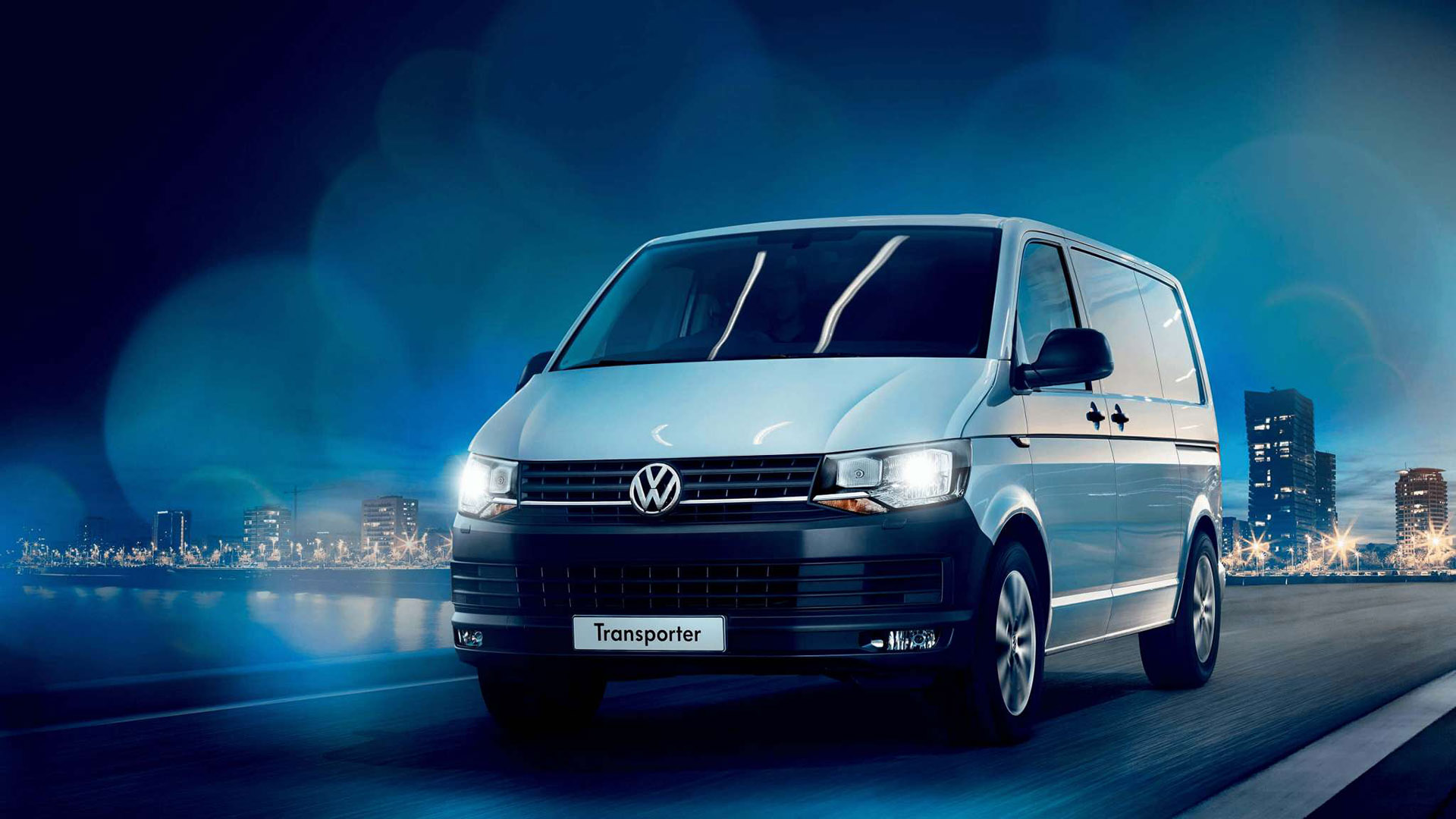 A lot goes into a Volkswagen Transporter. Image