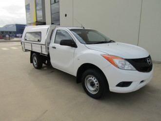2013 Mazda BT-50 UP0YD1 XT Cab chassis