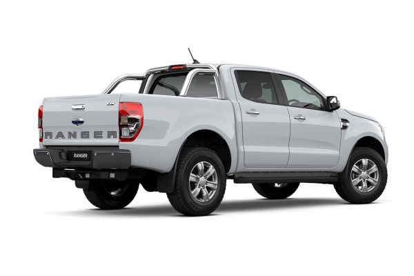 2020 MY21.25 Ford Ranger PX MkIII XLT Double Cab Cab chassis Image 4