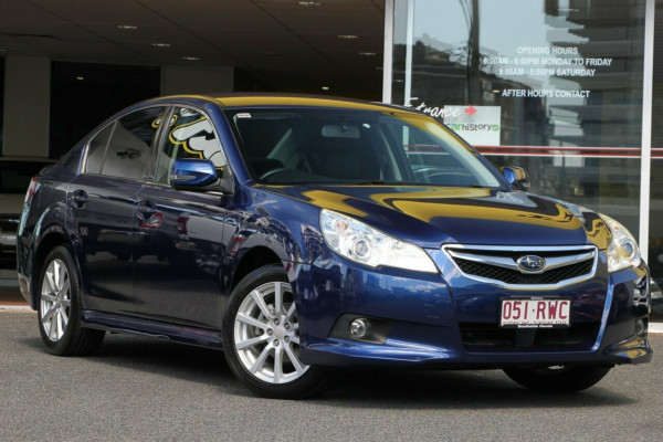 Subaru Liberty 2.5i Lineartronic AWD B5 MY11