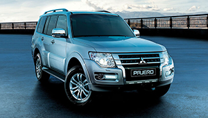 Pajero An iconic bold brave exterior