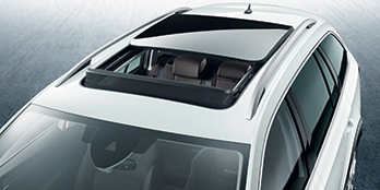 Electric panoramic sunroof (wagon)
